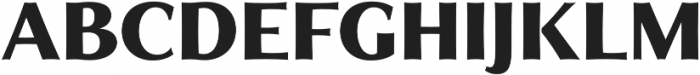 Qwincey FY Black otf (900) Font UPPERCASE