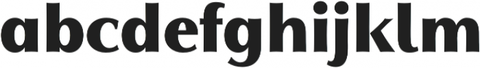 Qwincey FY Black otf (900) Font LOWERCASE