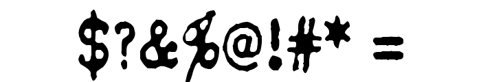 QWERTYpe Font OTHER CHARS