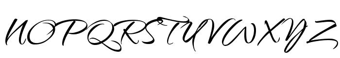 Qwigley Font UPPERCASE