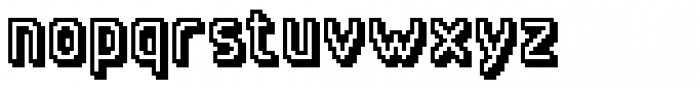 Qwerty One Font LOWERCASE