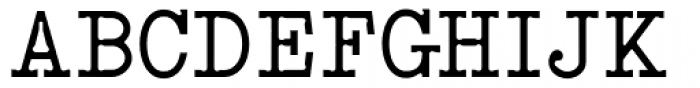 Qwerty Font UPPERCASE