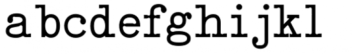 Qwerty Font LOWERCASE