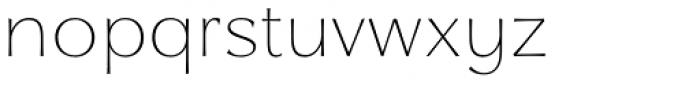 Qwincey FY Thin Font LOWERCASE