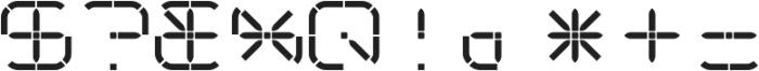 R-2014 ttf (400) Font OTHER CHARS