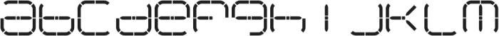 R-2014 ttf (400) Font LOWERCASE