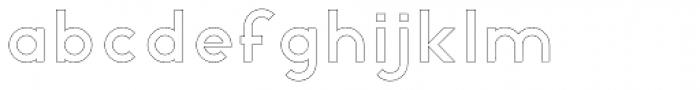 R&C Basic Empty Font LOWERCASE
