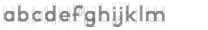 R&C Guidelines Dark Font LOWERCASE