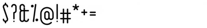 R�trospectif Faible Font OTHER CHARS