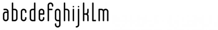 R�trospectif Faible Font LOWERCASE