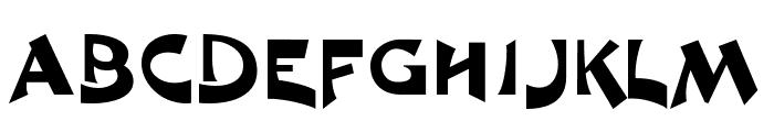 R1999 Font UPPERCASE