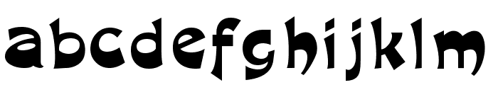 R1999 Font LOWERCASE