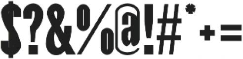 Raanan otf (700) Font OTHER CHARS