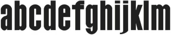 Raanan otf (700) Font LOWERCASE