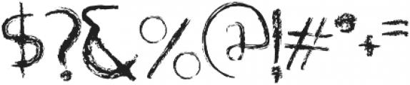 Rabid otf (400) Font OTHER CHARS