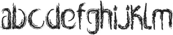 Rabid otf (400) Font LOWERCASE