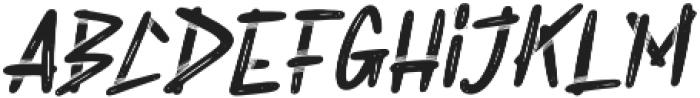 Rabsy otf (400) Font LOWERCASE
