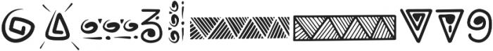 Rabsy pattern ttf (400) Font OTHER CHARS