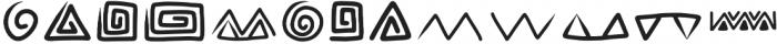 Rabsy pattern ttf (400) Font UPPERCASE