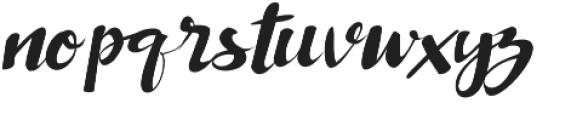Rabusto otf (400) Font LOWERCASE