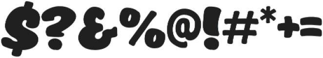 Raccoon otf (400) Font OTHER CHARS