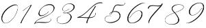Rachela Alternatif 1 Regular otf (400) Font OTHER CHARS