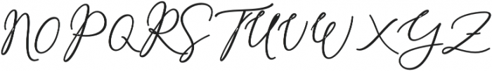 Rachela Alternatif 1 Regular otf (700) Font UPPERCASE