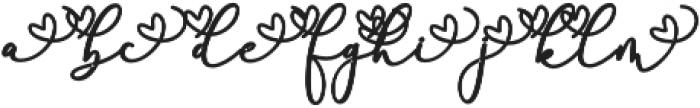 Rachela Alternatif 1 Regular otf (700) Font LOWERCASE