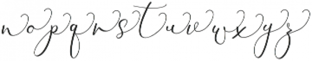 Rachela Alternatif 3 Regular otf (400) Font LOWERCASE