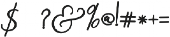 Rachela Alternatif 3 bold Regular otf (700) Font OTHER CHARS