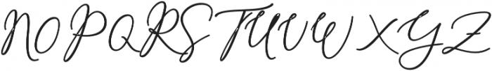Rachela Alternatif 3 bold Regular otf (700) Font UPPERCASE