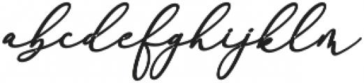 Rachela Bold Italic Regular otf (700) Font LOWERCASE