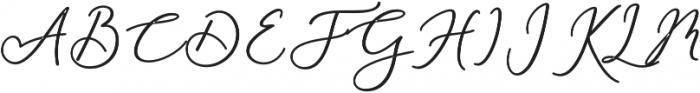 Rachela Bold Regular otf (700) Font UPPERCASE