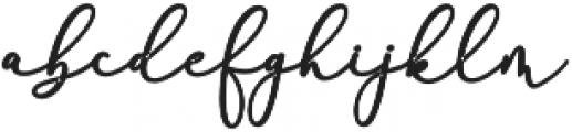 Rachela Bold Regular otf (700) Font LOWERCASE