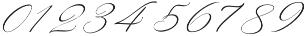 Rachela Italic Regular otf (400) Font OTHER CHARS