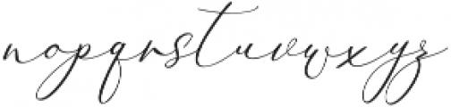 Rachela Italic Regular otf (400) Font LOWERCASE