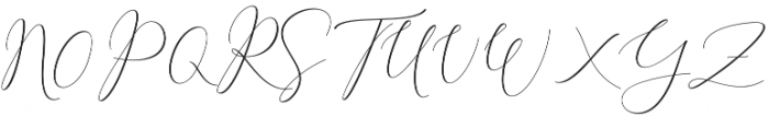 Rachela Script Alternatif 4 Regular otf (400) Font UPPERCASE