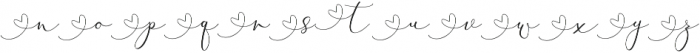 Rachela Script Alternatif 4 Regular otf (400) Font LOWERCASE