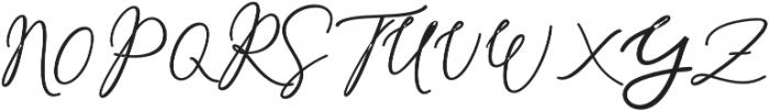 Rachela Script Alternatif 5 bol Regular otf (700) Font UPPERCASE