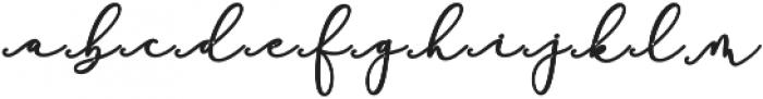 Rachela Script Alternatif 5 bol Regular otf (700) Font LOWERCASE