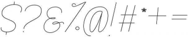 Rachele Light Cd otf (300) Font OTHER CHARS