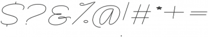 Rachele Light Exp otf (300) Font OTHER CHARS