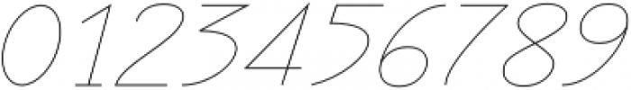 Rachele Light Semi otf (300) Font OTHER CHARS