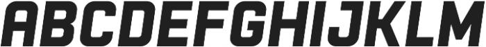 Racon BasicBold S otf (700) Font UPPERCASE