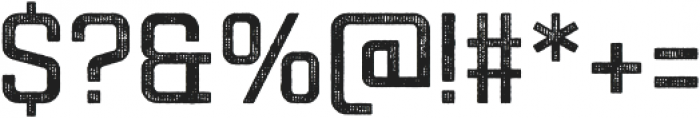 Racon OldCarbon otf (400) Font OTHER CHARS