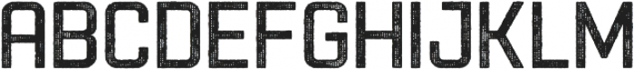 Racon OldCarbon otf (400) Font UPPERCASE