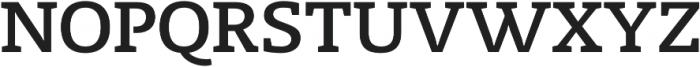 Radcliffe SemiBold otf (600) Font UPPERCASE