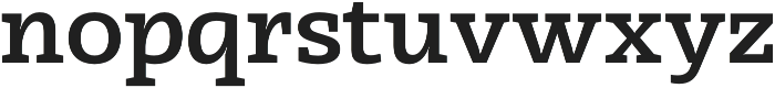 Radcliffe SemiBold otf (600) Font LOWERCASE