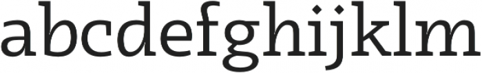 Radcliffe otf (400) Font LOWERCASE