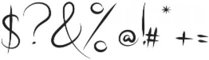 Radical Outcast otf (400) Font OTHER CHARS